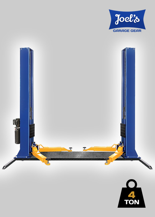 2 Post Hoist – 4 Ton – Subframe Baseplate Model