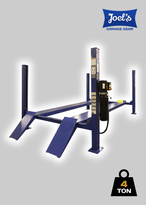4 Post Hoist – 4 Ton – Standard Model