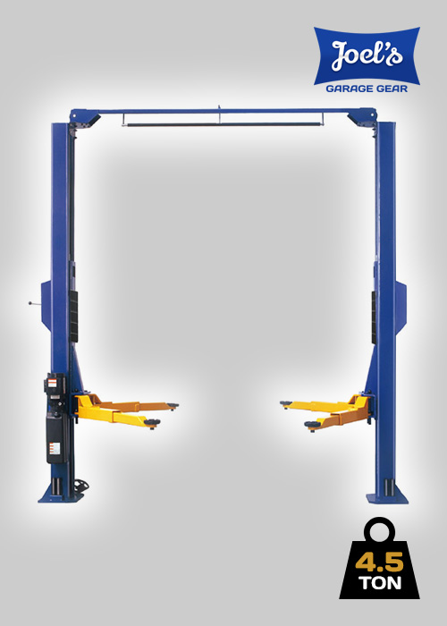 2 Post Hoist – 4.5 Ton – Clear Floor Model