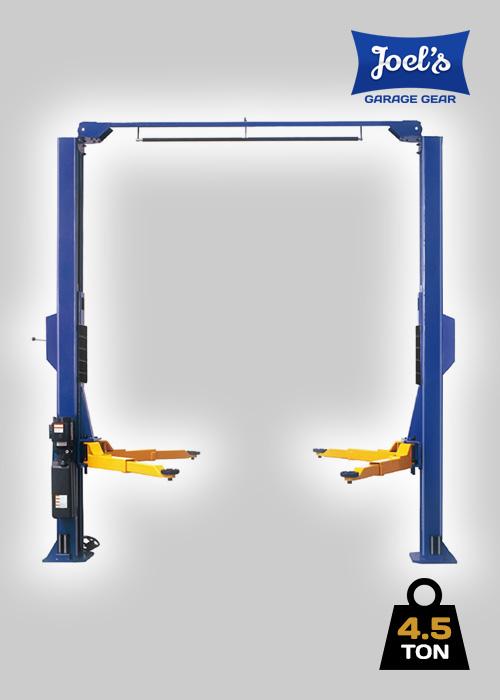 2 Post Hoist – 4.5 Ton Clear Floor
