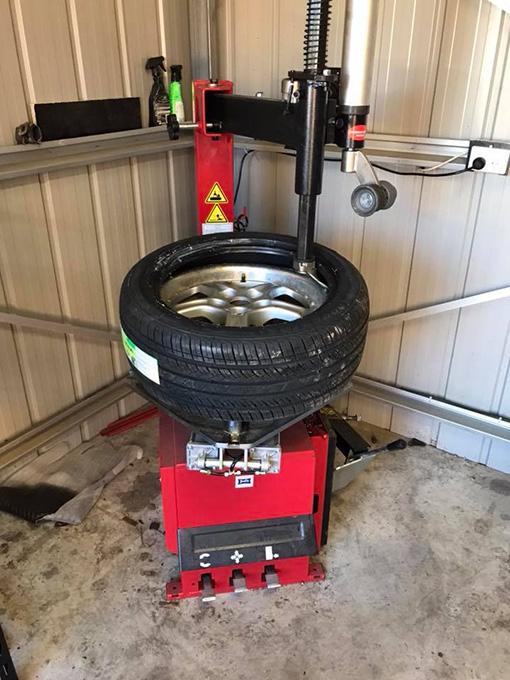 Car Tyre Changer Up To 24 Quot Joel S Garage Gear