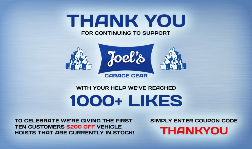 We've Reached 1000+ Likes On Facebook!