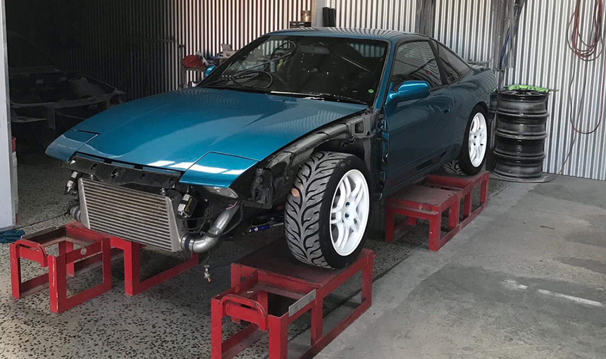 Circuit Race Car Painted – Joel's Garage Gear