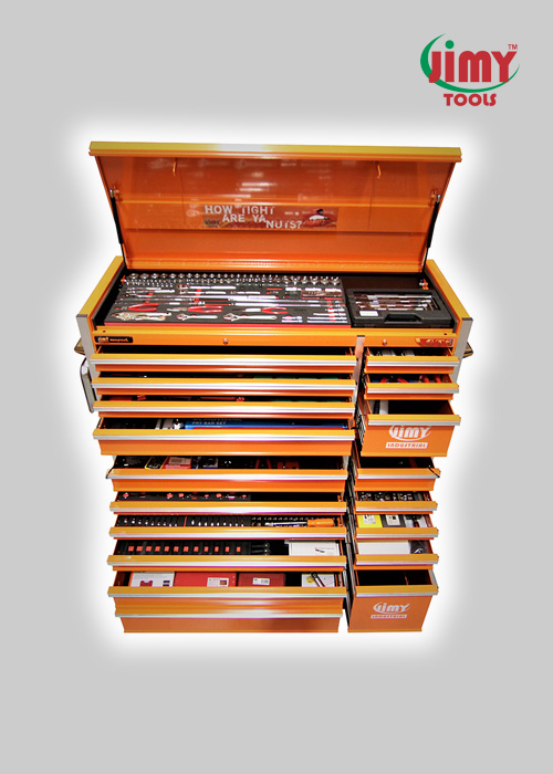 527 Piece 18 Drawer 'GTS' Mechanics Tool Kit