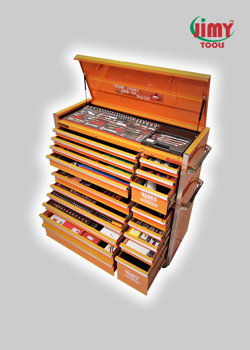 261 Piece 18 Drawer 'GTS' Tool Kit