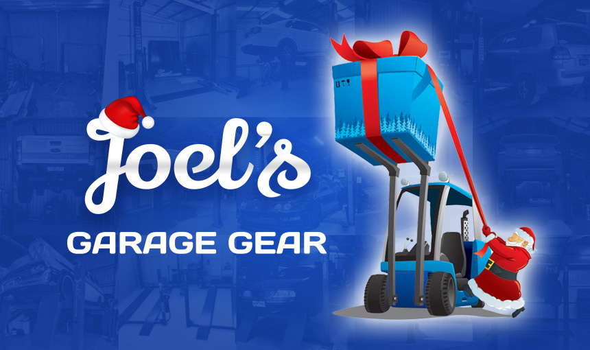 Merry Christmas & Happy New Year from Joel's Garage Gear!