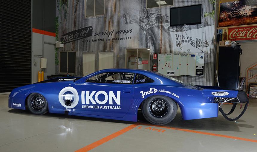 Race Parts Melbourne Promod Drag Car